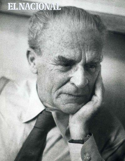 Salvador de la Plaza López abogado, dirigente sindical, político y profesor universitario. 01-11-1962. (PEDRO GARRIDO / ARCHIVO EL NACIONAL)