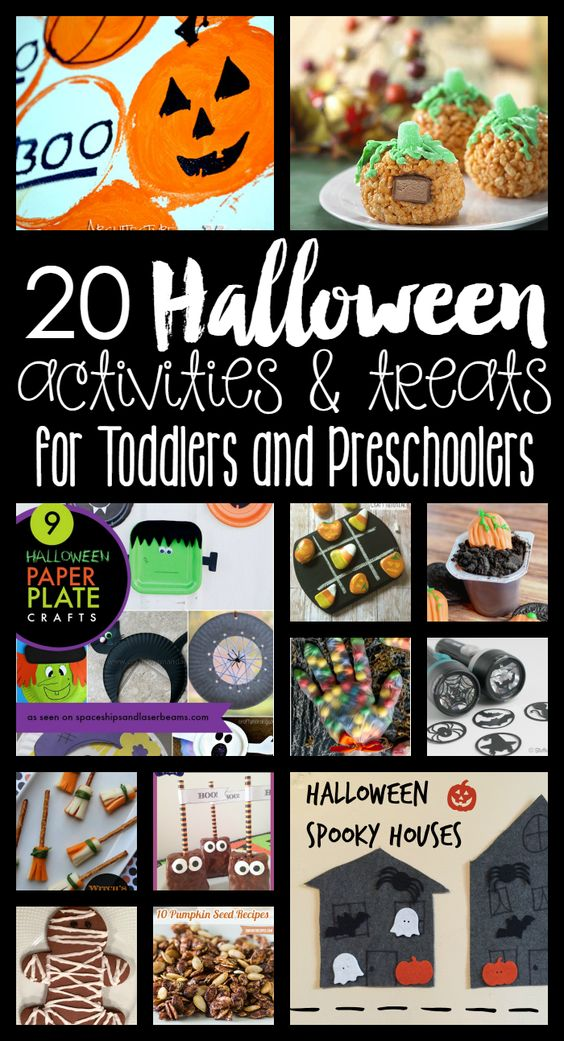 20 Halloween Activities Treats For Toddlers And