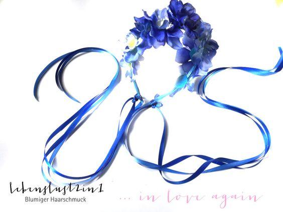 Blumenkranz+Blumenkrone+**LYNN**+in+love+again+von+Lebenslust2in1+auf+DaWanda.com