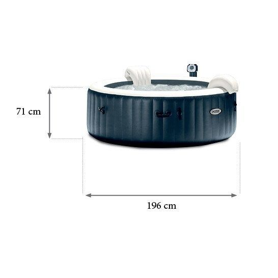 Spa Gonflable Intex Purespa Rond 4 Places Assises Spa Gonflable Intex Spa Gonflable Gonflable