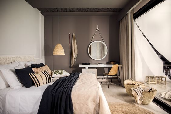 Bedroom design inspiration bycocoon.com | interior design | villa design | hotel design | bathroom design | design products | renovations | Dutch Designer Brand COCOON || Hôtel Casa Cook in Rhodes