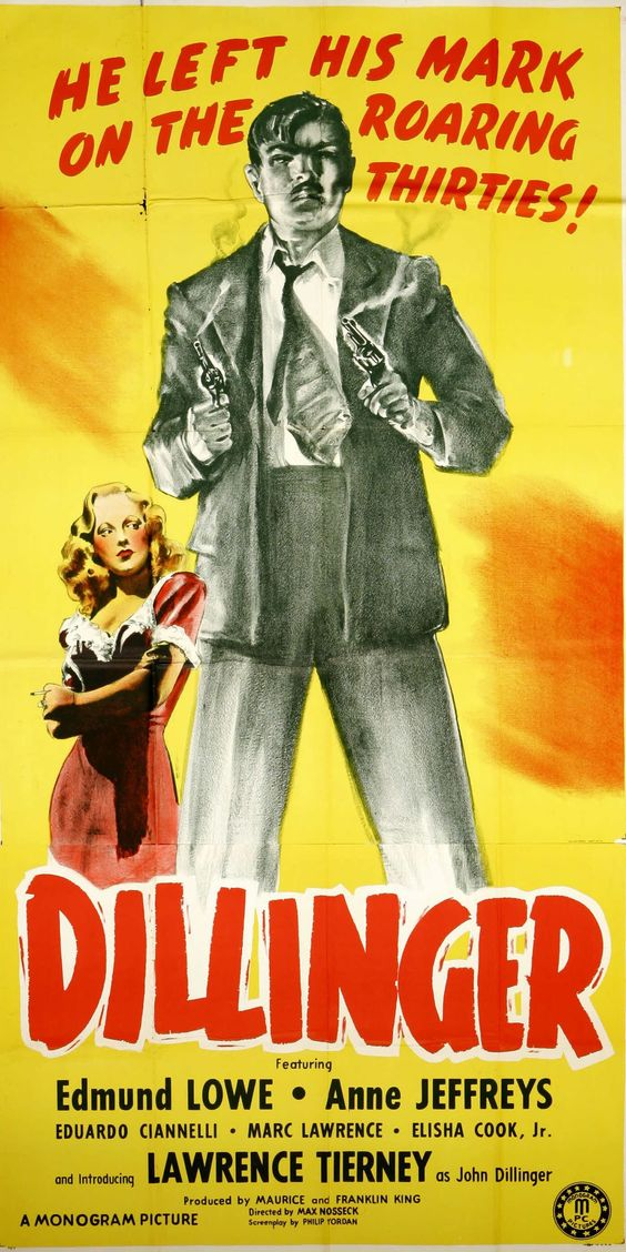 Dillinger starring Lawrence Tierney
