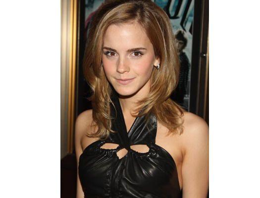 """Emma Watson im superengen Leder-Outfit bei der """"Harry Potter und der Halbblutprinz""""-Premiere"""