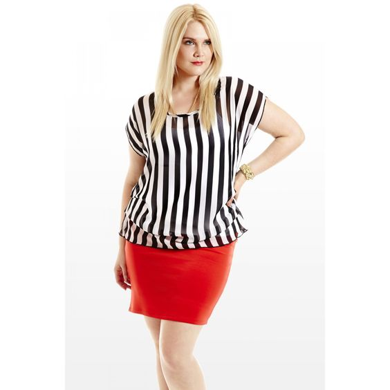 Stares and Stripes Ruched Top