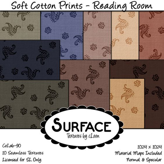 Surface - Soft Cotton Prints - Reading Room Contact | Flickr - Photo Sharing!