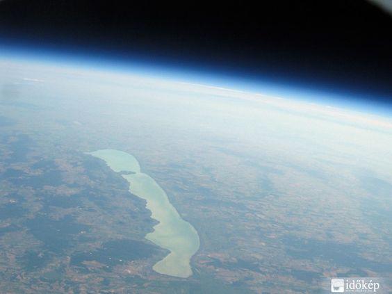 Lake Balaton from 30.000 meters