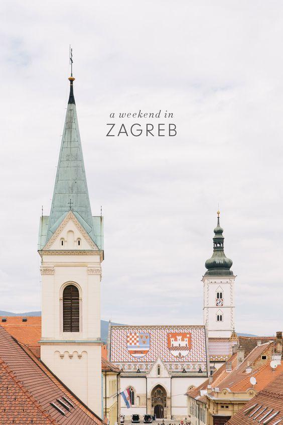 A Weekend In Zagreb Croatia Travel Guide Zagreb Croatia Travel