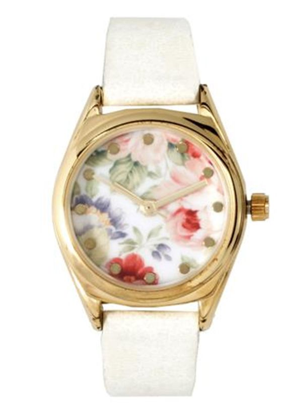 flowers watch,reloj flores