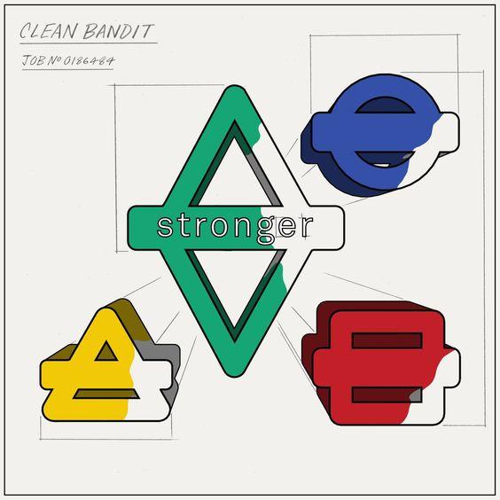 Clean Bandit, Alex Newell, Sean Bass – Stronger (single cover art)