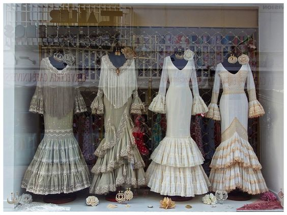Seville style dresses