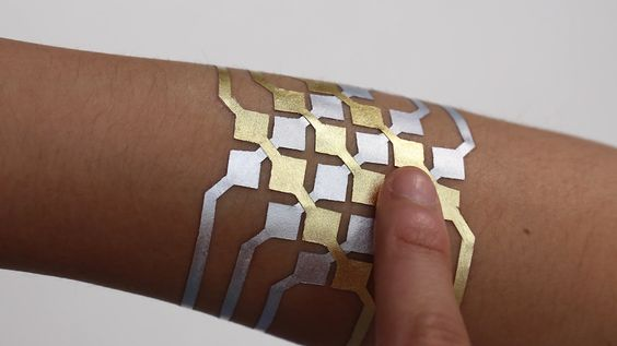 No Joke: Someone Created a Temporary Tattoo That's Also a Touch Screen from InStyle.com