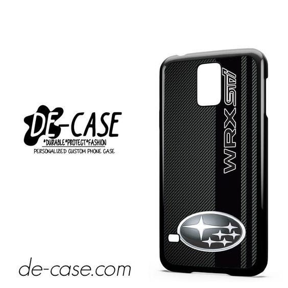 Subaru Wrx Sti Logo Field Of Simulated Black Carbon Fiber DEAL-10230 Samsung Phonecase Cover For Samsung Galaxy S5 / S5 Mini
