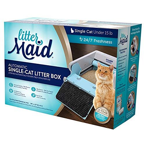 Littermaid Lm680c Automatic Self Cleaning Classic Litter Box Lm680c See This Great Product This Is An In 2020 Self Cleaning Litter Box Litter Box Cat Litter Box