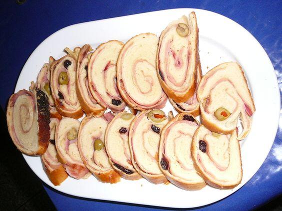 Pan de Jamón Navideño