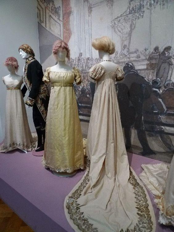 Kleidung um 1800: Mr Darcy meets Eline Vere...and we've met them!