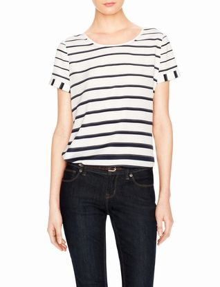 Engineered Stripe Top from THELIMITED.com