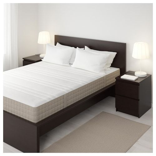 Tarva Bed Frame Pine Luroy Queen Ikea Ikea Mattress Review Ikea Mattress Bed Frame With Storage