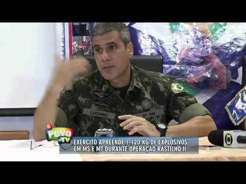 ALERTA A POPULAÇAO # Exército apreende 1,2 tonelada de EXPLOSIVOS SEM OR...