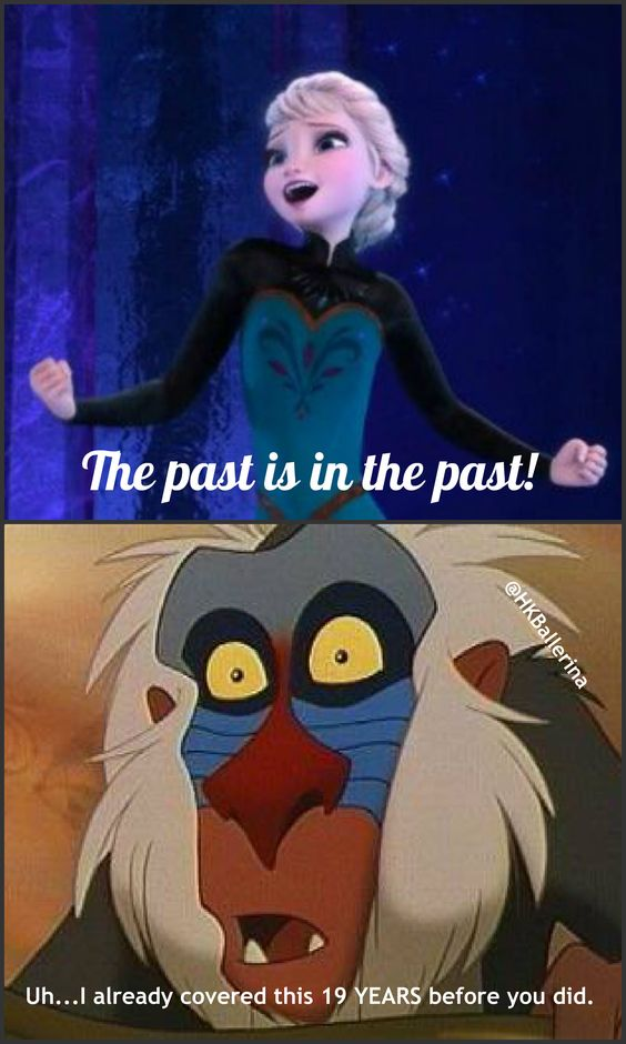 Frozen isn't the first to do anything except be so overrated. Oh, wait. Never mind. The Little Mermaid did that first. <<<< Hahaha but the fandom is awesome!
