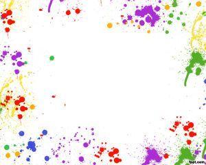 Diseño de PowerPoint para creativos así como también amantes de la pintura, el diseño de plantilla PowerPoint con manchas de colores tiene un lienzo en PowerPoint con fondo blanco y manchas de distintos colores que puede utilizar para presentaciones coloridas en Microsoft PowerPoint y descargar gratis