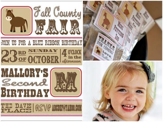 County Fair Birthday!
