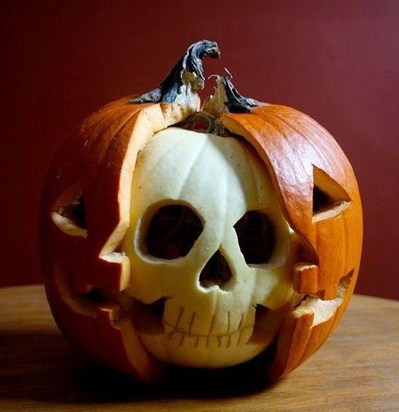 photos d halloween jack o lantern halloween crânes citrouilles ...