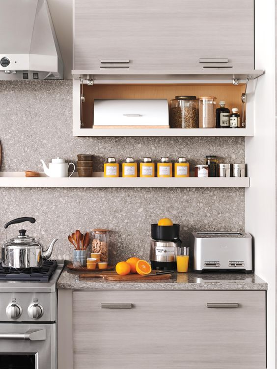 Orange you excited to create an organized and functional kitchen like this one? Martha Stewart Living is available at @homedepot.
