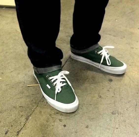 Vans Olive Green