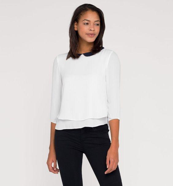Blusa en look de capas-C&A
