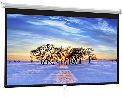 Projector Screen 100 Inch 16 9 Auto Locking Portable Projection Screen For 4k 3d 1080p Hd Manu Projector Screen Outdoor Projector Screens Projection Screen