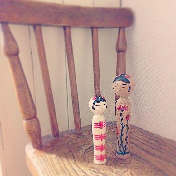 """""""・ この夏は サンダル&ソックスが トレンドらしいわね。  #cochae  #のりめっこけし  #こけし  #kokeshi  #西荻イトチ #こけしEXPO"""" Photo taken by @no.ri.mekko on Instagram, pinned via the InstaPin iOS App! http://www.instapinapp.com (06/19/2015)"""
