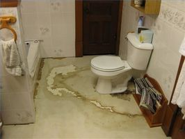 Floors and bathroom on pinterest - How to replace subfloor in bathroom ...