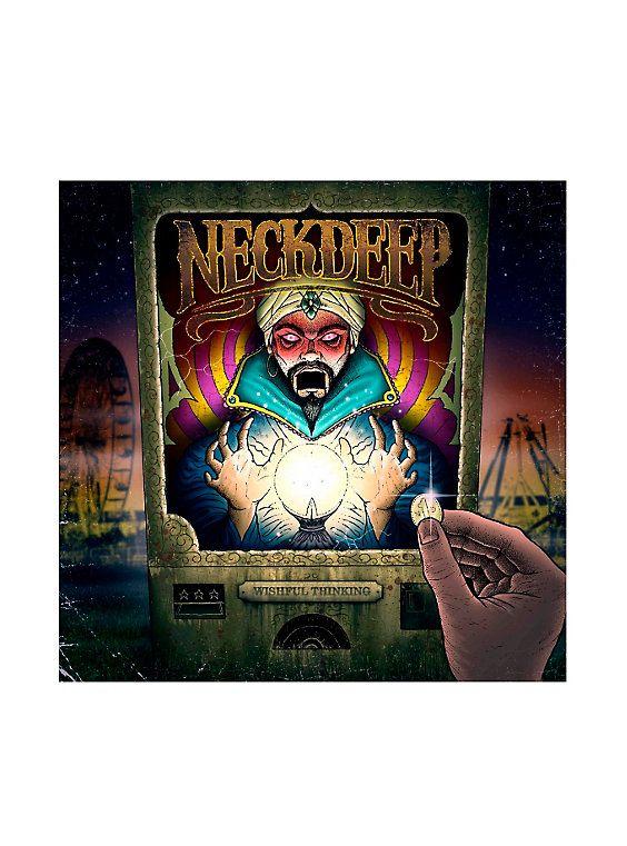 15 37 Neck Deep Wishful Thinking Vinyl Lp Hot Topic Exclusive Neck Deep Vinyl Hot Topic