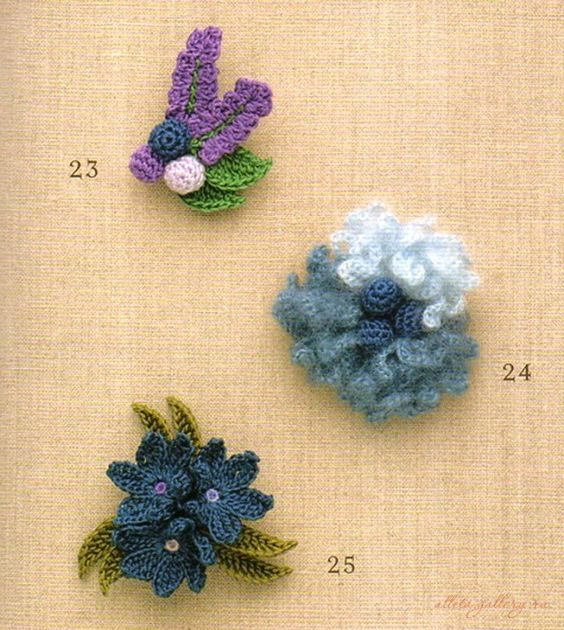 Gallery.ru / Фото #1 - 100 корсажных цветков - Alleta