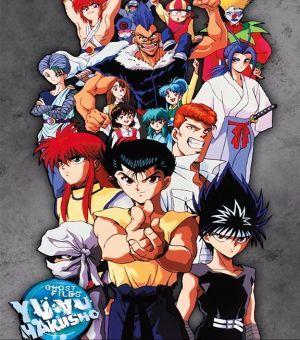 Yu Yu Hakusho الحلقة 67 Anime Horror Comic Book Cover