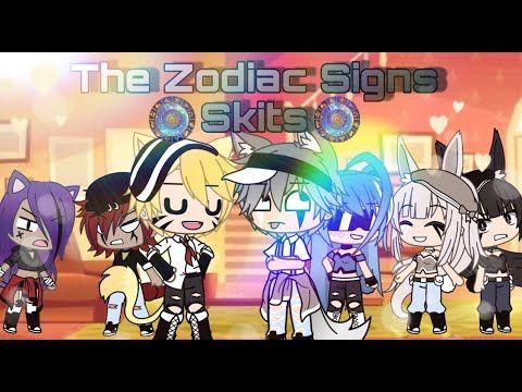 Zodiac Signs Ii Skits Ii Gacha Life Ii Cuss Warning Youtube Zodiac Signs Funny Zodiac Signs Anime Memes Funny