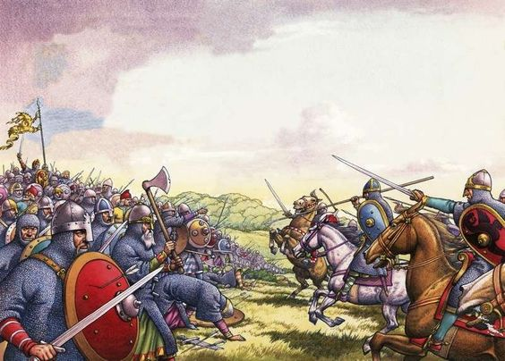 and all that  Battle of Hastings re enacted   UK news   The     Battle of Stamford Bridge