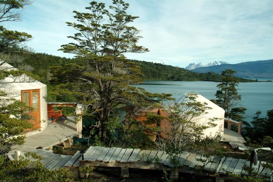 Yurts at Patagonia Camp, Chile