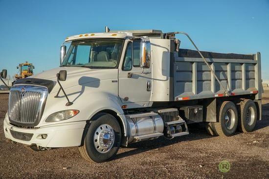 2012 International Prostar T A Dump Truck Maxxforce Diesel 10 Speed Transmission 4 Bag Air Ride Suspension 16 Dump Box W Elect Air Ride Dump Truck Trucks