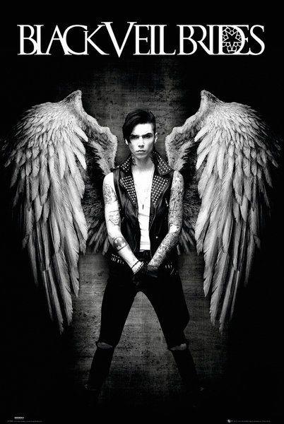 Andy Biersack - Black Veil Brides Fallen Angel>>> this is really cool