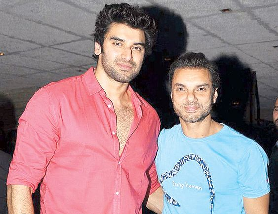 Niketan Dheer and Sohail Khan at the launch party of Club Alibii. #Bollywood #Style #Fashion