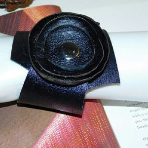 HANDMADE Jewelry - HANDMADE BLACK GENUINE LEATHER BRACELET