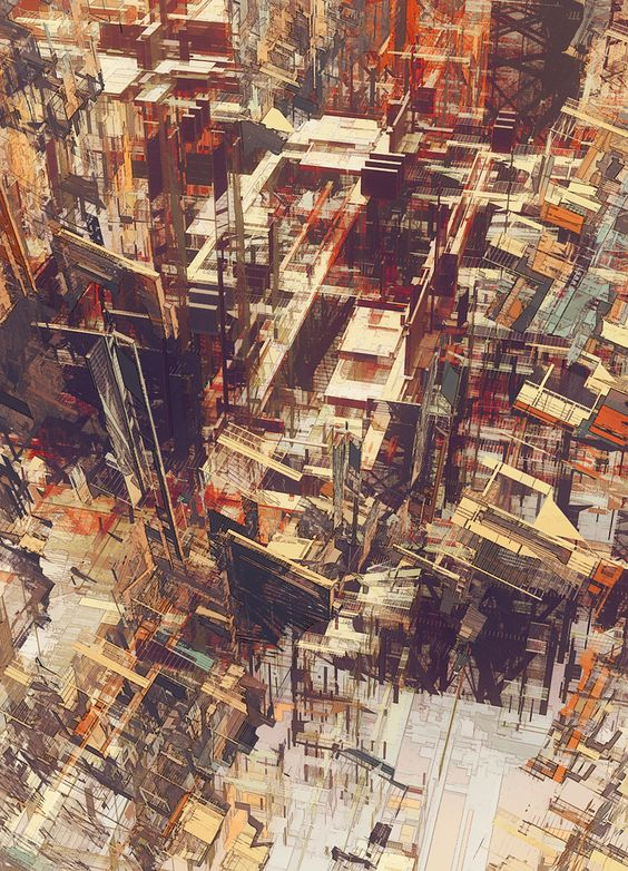 : Art Stuff, Cityscapes Architecture, Atelier Olschinsky, Cities Iv, Architecture Drawings, Graphics Illustrations, Design Illustration, Deconstructed Atelier