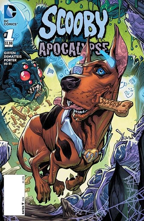 Variant Covers Revealed for Future Quest and Scooby Apocalypse - Comic Vine