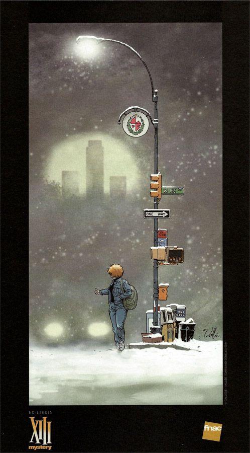 Ex-libris FNAC. Dessin de Sylvain Vallée pour XIII Mystery 7. #XIIImystery #XIII #Dargaud #Vallée #BD