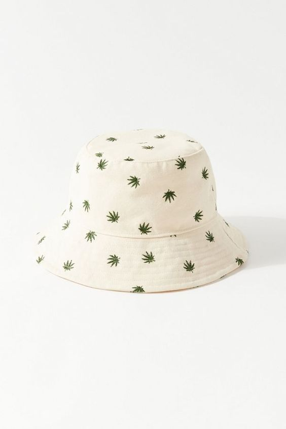 Uo Embroidered Bucket Hat Urban Outfitters Embroidered Bucket Hat Bucket Hat Fashion Cute Hats