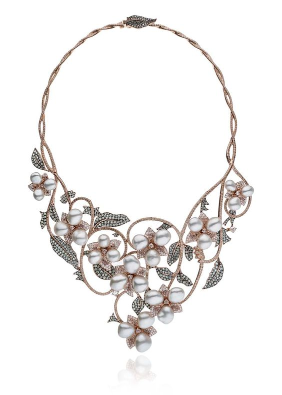 Australian pearls beguile the country's top designers with their shimmering…
