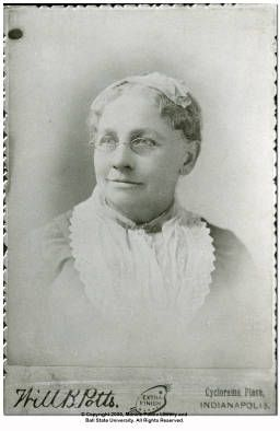 Taken in Indianapolis, Indiana.; Adelia Carter New was born around 1821. She served as a nurse during the Civil War. She died in Indianapolis, Indiana May 9, 1892. She is buried at Crown Hill Cemetery in Indianapolis, Indiana. She is the namesake of the Muncie, Indiana chapter of the Daughters of Union Veterans.