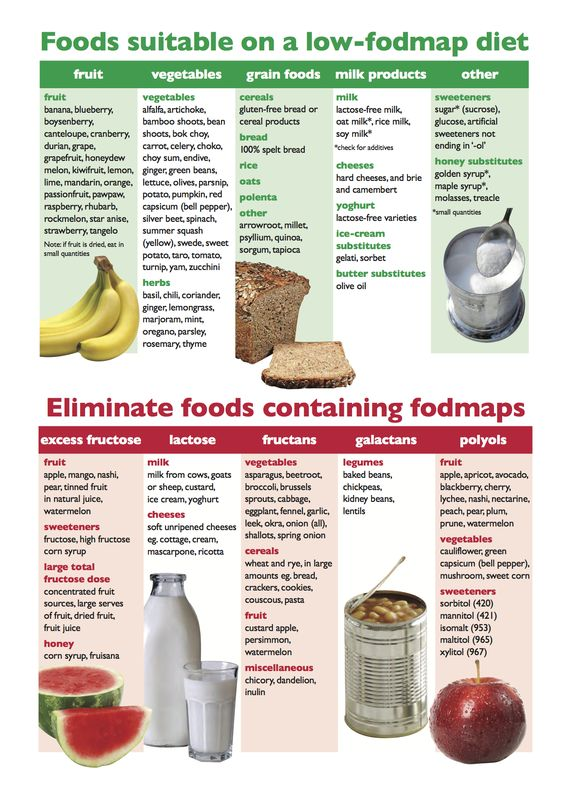 Low Fodmap Diet Food List