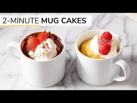 This Easy 2 Minute Vanilla Mug Cake Recipe Is A Keto Paleo Recipe That S Simple To Make And Super Deliciou Vanilla Mug Cakes Mug Recipes Clean And Delicious